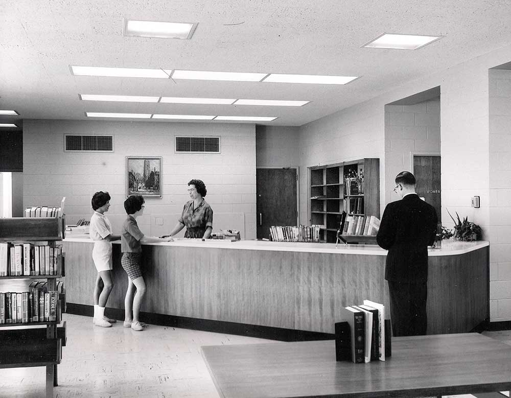 west lafayette library 1960s